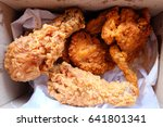 fried chicken | Shutterstock . vector #641801341