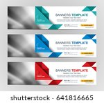 abstract web banner design... | Shutterstock .eps vector #641816665