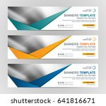 abstract web banner design... | Shutterstock .eps vector #641816671