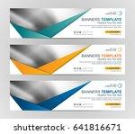 abstract web banner design...   Shutterstock .eps vector #641816671