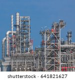 industrial zone the equipment... | Shutterstock . vector #641821627