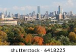 boston city including harvard... | Shutterstock . vector #6418225