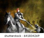Fantasy Warrior On Horseback...