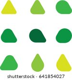 abstract vector icon shapes | Shutterstock .eps vector #641854027