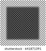 vector halftone background... | Shutterstock .eps vector #641871391