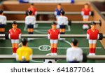 table soccer | Shutterstock . vector #641877061
