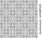 oriental geometric pattern with ...   Shutterstock .eps vector #641889145