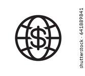 icon money  vector | Shutterstock .eps vector #641889841