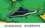 helicopter | Shutterstock .eps vector #641896441