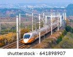 taiwan high speed rail | Shutterstock . vector #641898907