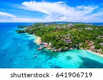Boracay Island Aerial View ...