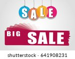 price labels. sale | Shutterstock .eps vector #641908231