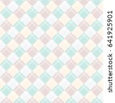 seamless pattern of pastel... | Shutterstock .eps vector #641925901
