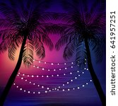 summer time  background. vector ... | Shutterstock .eps vector #641957251