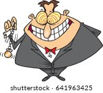 cartoon hypnotist | Shutterstock .eps vector #641963425