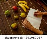 healthy lifestyle concept  diet ... | Shutterstock . vector #641967067