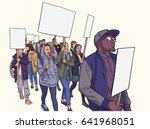illustration of students... | Shutterstock .eps vector #641968051