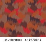 abstract camouflage pattern.... | Shutterstock .eps vector #641970841