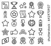 best icons set. set of 25 best...   Shutterstock .eps vector #641970937