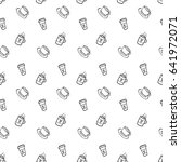 seamless vector pattern with...   Shutterstock .eps vector #641972071