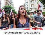 thessaloniki  greece   may 17 ... | Shutterstock . vector #641982541