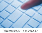 press on keyboard | Shutterstock . vector #641996617