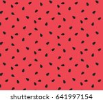 vector watermelon background... | Shutterstock .eps vector #641997154
