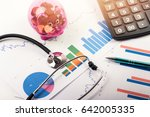 health care costs and budget... | Shutterstock . vector #642005335