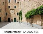 Interior Courtyard Of Alcazar...