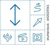 next icon. set of 6 next...