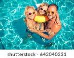 happy family having fun on...   Shutterstock . vector #642040231