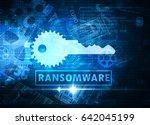 ransomware | Shutterstock . vector #642045199
