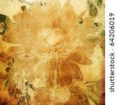 Art Floral Grunge Graphic...