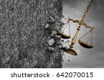 obstruction of justice and... | Shutterstock . vector #642070015