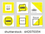 abstract vector layout...   Shutterstock .eps vector #642070354