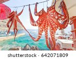 Mediterranean Octopus Drying B...