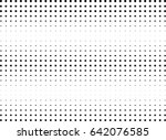 abstract halftone dotted... | Shutterstock .eps vector #642076585