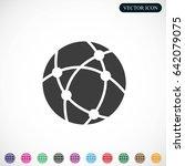 global technology or social... | Shutterstock .eps vector #642079075