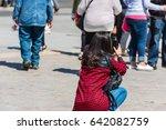 france  paris   june 01  back... | Shutterstock . vector #642082759