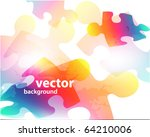abstract background made from...   Shutterstock .eps vector #64210006