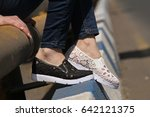 shoes and sports shoes | Shutterstock . vector #642121375