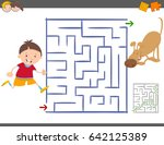 cartoon illustration of... | Shutterstock . vector #642125389