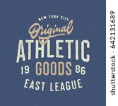 Original Athletic Goods T Shir...
