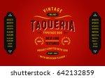 Vintage Textured Typeface Duo...