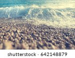sea surf. toned | Shutterstock . vector #642148879