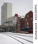 philadelphia   cicra 2009  snow ...   Shutterstock . vector #642156991