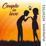 couple in love design | Shutterstock .eps vector #642167521