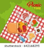 picnic time design   Shutterstock .eps vector #642168295