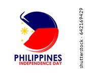 phillippines independence day... | Shutterstock .eps vector #642169429