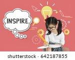 imagining creative inspiration...   Shutterstock . vector #642187855